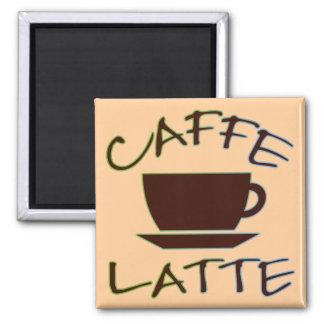 Caffe Latte Magnet