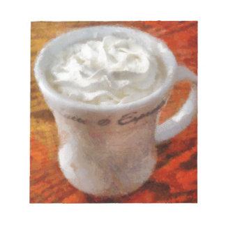 Caffe Latte Memo Pads