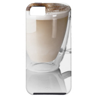 Caffe latte, on white background, cut out iPhone 5 case