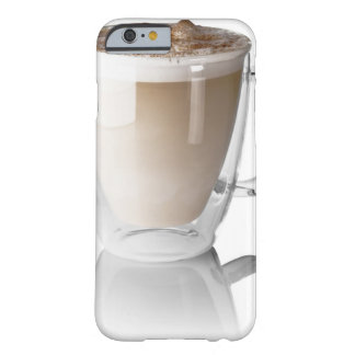 Caffe latte, on white background, cut out barely there iPhone 6 case