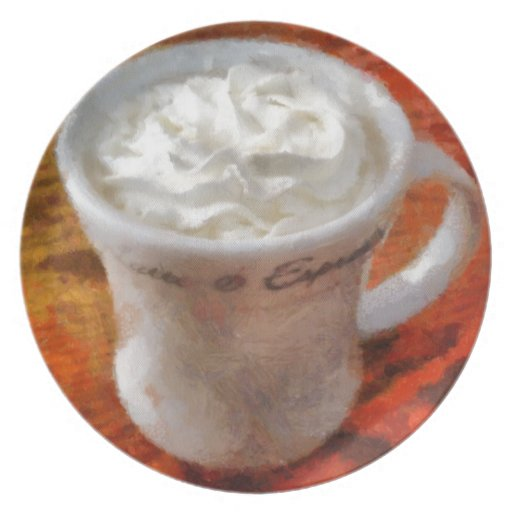 Caffe Latte Dinner Plates