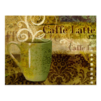 Caffe Latte Post Cards