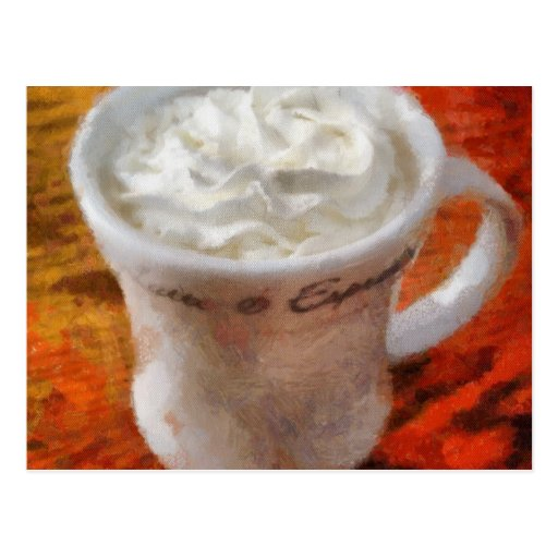 Caffe Latte Post Cards