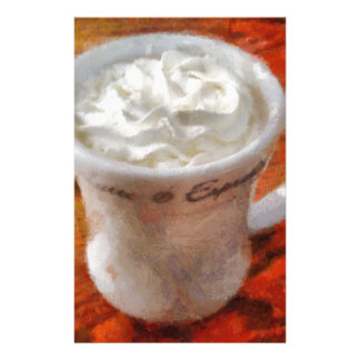 Caffe Latte Stationery Paper