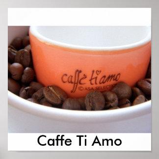 Caffe Ti Amo Poster