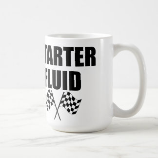 Caffeinated Starter Fluid Mugs