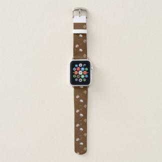 Caffeinated World (Pattern) Apple Watch Band