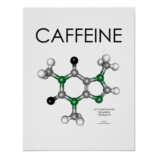 Caffeine 14*18 in - Starbucks Eddition... Poster