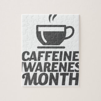 Caffeine Awareness Month March - Appreciation Day Jigsaw Puzzle