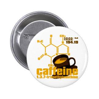 Caffeine Pin