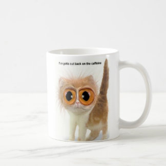 Caffeine Cat Coffee Mug