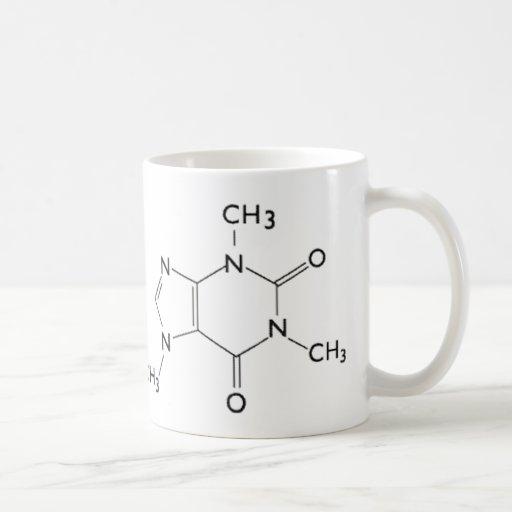 Caffeine Chemical Structure Mug