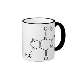 Caffeine Coffee Molecule Ringer Mug