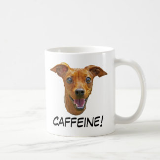 Caffeine Dog Coffee Mug