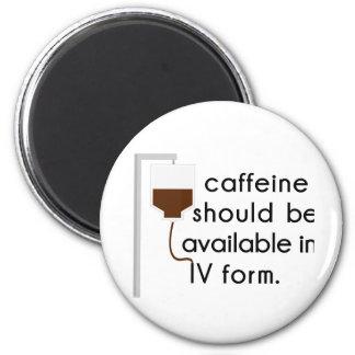 caffeine in IV, nurse humor Magnet
