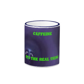 CAFFEINE IT'S THE REAL THING MUG