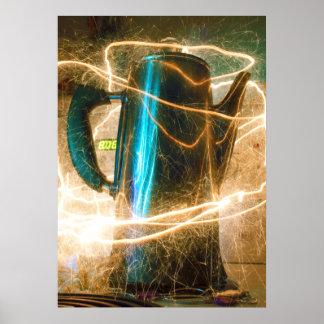 Caffeine Jolt Poster