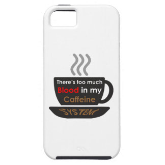 Caffeine Lover iPhone 5 Covers