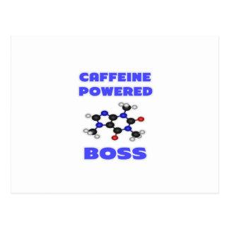 Caffeine Powered Boss Postcards