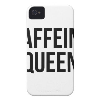 Caffeine Queen iPhone 4 Cover
