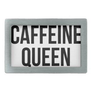 Caffeine Queen Rectangular Belt Buckles
