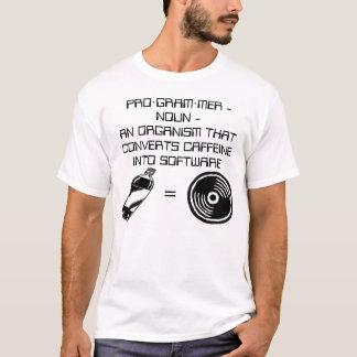 Caffeine = Software T-Shirt