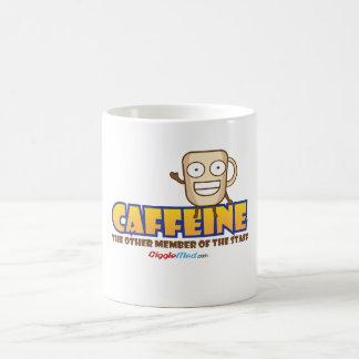 Caffeine, The Other Member of the Staff Coffee Mug