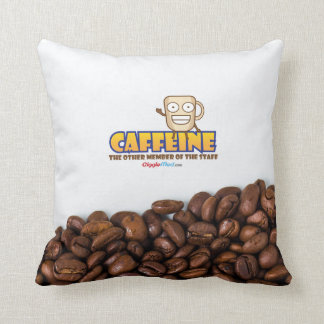 Caffeine, The Other Member of the Staff Cushion