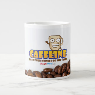 Caffeine, The Other Member of the Staff Large Coffee Mug