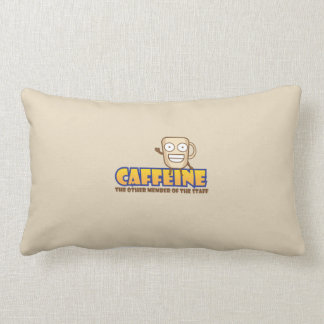 Caffeine, The Other Member of the Staff Lumbar Cushion