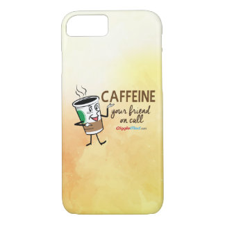 Caffeine, Your Friend on Call iPhone 8/7 Case