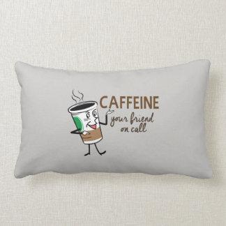 Caffeine, Your Friend on Call Lumbar Cushion