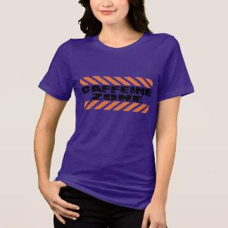 caffeine zone coffee funny caffeine shirt design