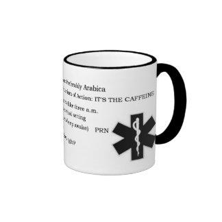 CaffeineRX Ringer Coffee Mug