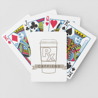 Caffiend Bicycle Playing Cards