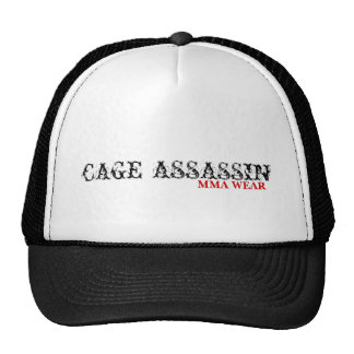 CAGE ASSASSIN MMA WEAR MESH HATS