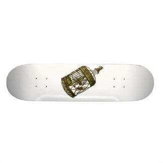 Caged Heart 19.7 Cm Skateboard Deck