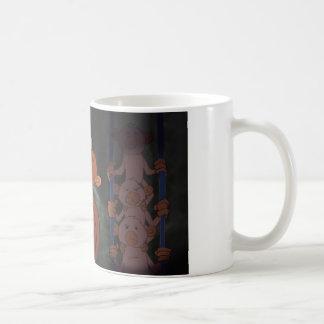 Caged Monkeys Classic White Coffee Mug