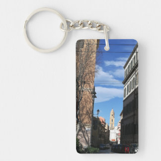 Cagliari street view key ring