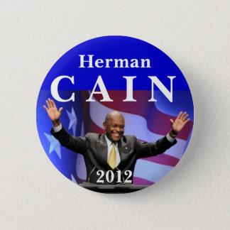 Cain 2012 6 cm round badge