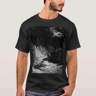 Cain and Abel -  - Gustave Dore T-Shirt