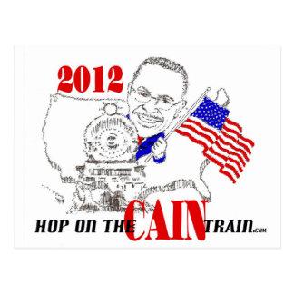 CAIN TRAIN POSTCARD