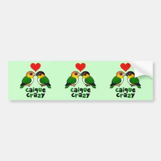 Caique Crazy Bumper Sticker