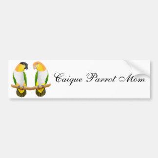 Caique Parrot Mom Bumper Sticker