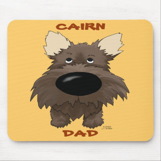 Cairn Dad Mousepad