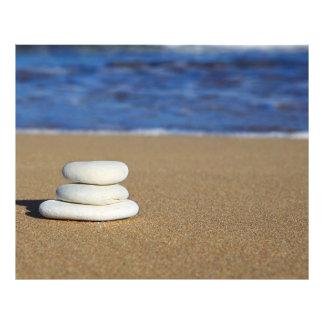 Cairn on the Sand Photo Print