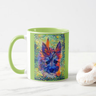 Cairn Puppy Multi-Color Mug