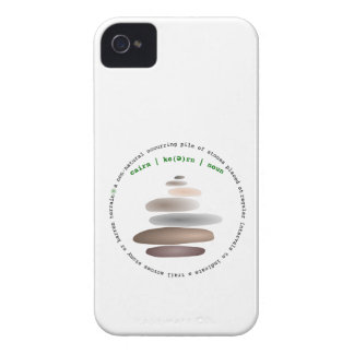 Cairn stacked stone iPhone 4 cases