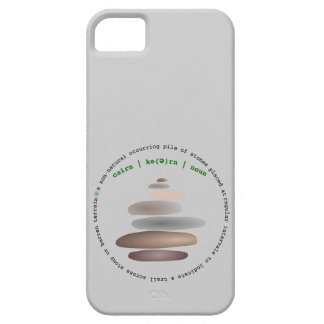 Cairn stacked stone iPhone 5 cases
