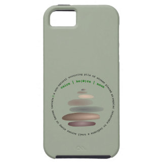 Cairn stacked stone iPhone 5 covers